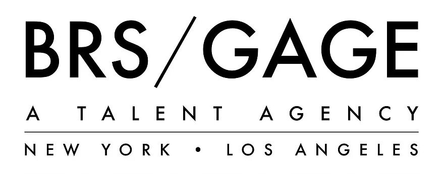 Logo for Daniella Dalli's representation BRS/GAGE Talent Agency