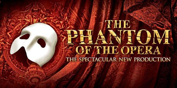logo for the musical, phantom of the opera